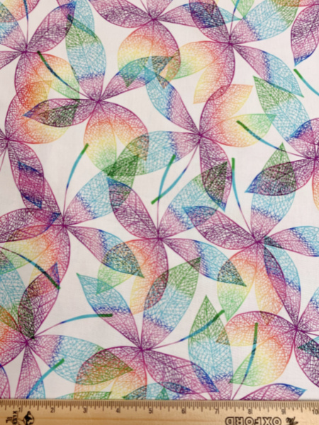 Pretty in Paisley Quilting Fabric by Hoffman