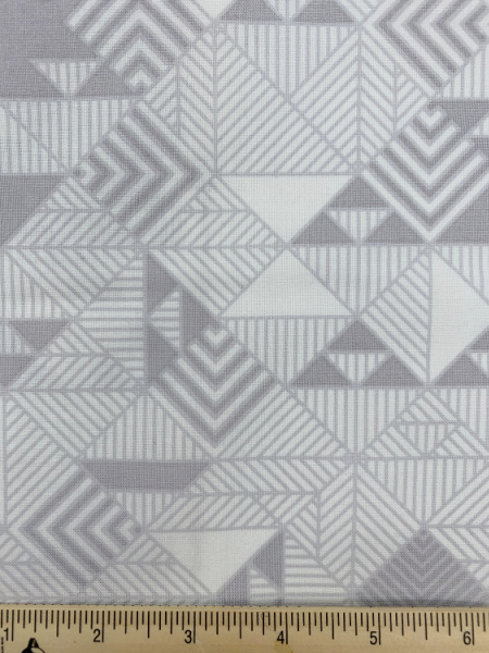 Range in Fog from Stealth Quilting Fabric by Libs Elliott for Andover Fabrics