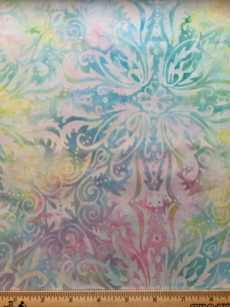 Romance in Pastel Batik Quilting Fabric from Timeless Treasures