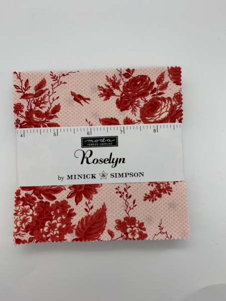 Roselyn Charm Pack Quilting Fabric 42 five inch squares from Moda