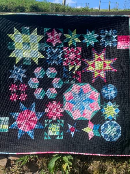 Stars in Their Eyes Hand sewn quilt class