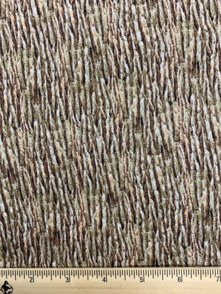 Tree Bark Quilting Fabric from Elizabeth Studio