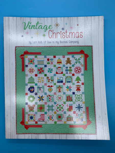 Vintage Christmas Book by Lori Holt of Bee in my Bonnet Company