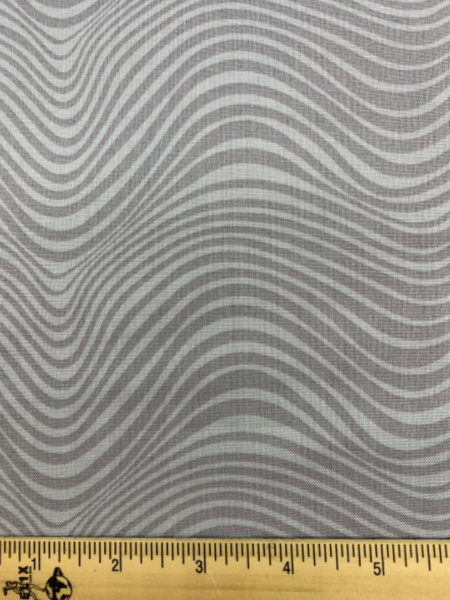 Waves in smoke from the Stealth collection quilting fabric