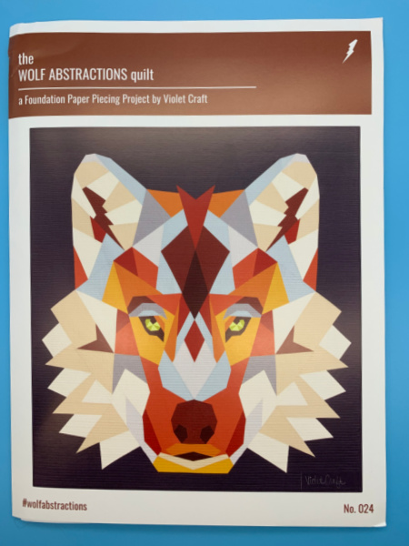 The Wolf Abstractions Quilt Pattern By Violet Craft