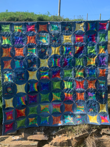 Recycle Denim Jeans Quilt day class
