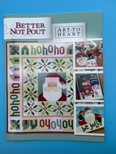 Better Not Pout Pattern Book by Nancy Halvorsen for Art to Heart