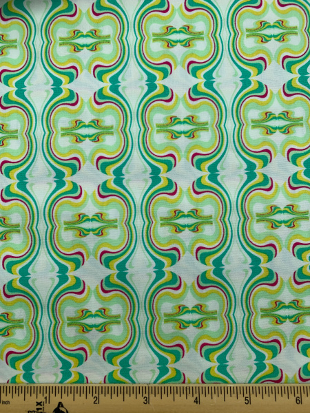 Carnaby Street quilting fabric by Pat Bravo for Art Gallery Fabrics
