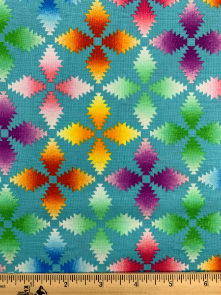 Dancing Wings Turquoise By Jennifer Brinley For Studio E Fabrics