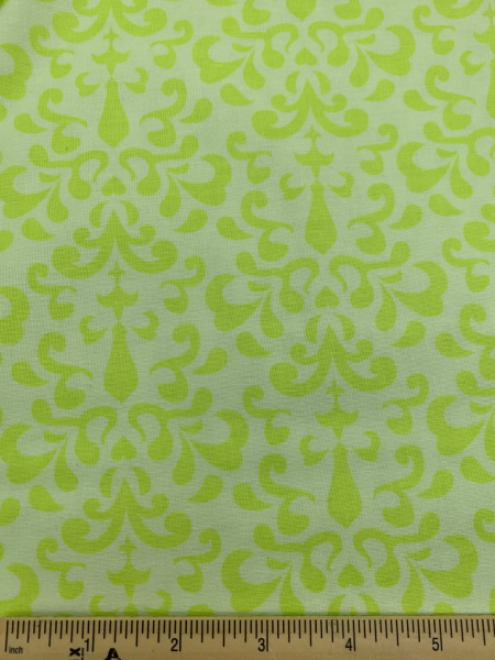 Damask in Green from Ashbury Heights