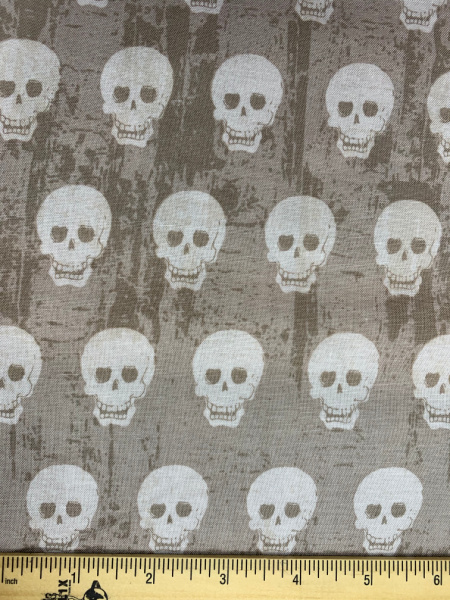 Skulls on Hot Pink Quilting Fabric from Geekly Chic by Riley Blake Cotton quilters fabric 106cms wide (42 Inches wide) A fun print for the modern quilter good as a background or to fussy cut