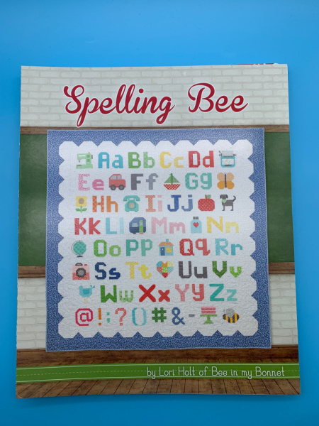 Spelling Bee patchwork book by Lori Holt