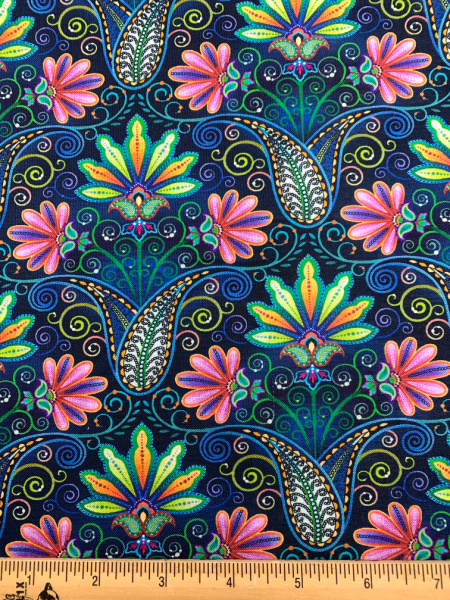 Indio Blooming Paisley Digital Cotton