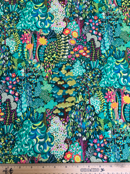 Avalon Green quilting fabric