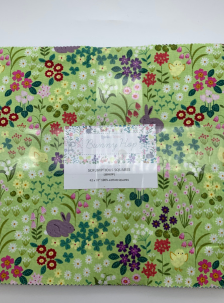 Bunny Hop quilting fabric