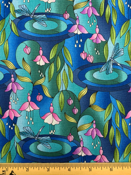 Reflections quilting fabric