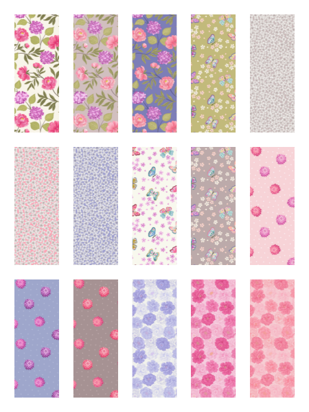 Love Blooms quilting fabric