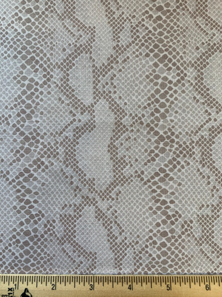 Snake skin quilting fabric