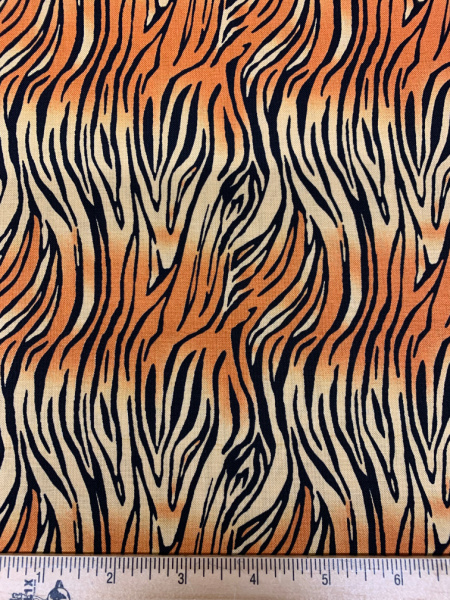 Tiger Stripes quilting fabric